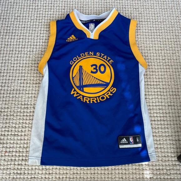 Adidas Stephen Curry Golden State Warriors Jersey